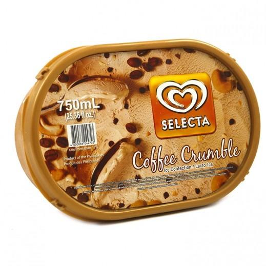 SELECTA COFFEE CRUMBLE 750ML
