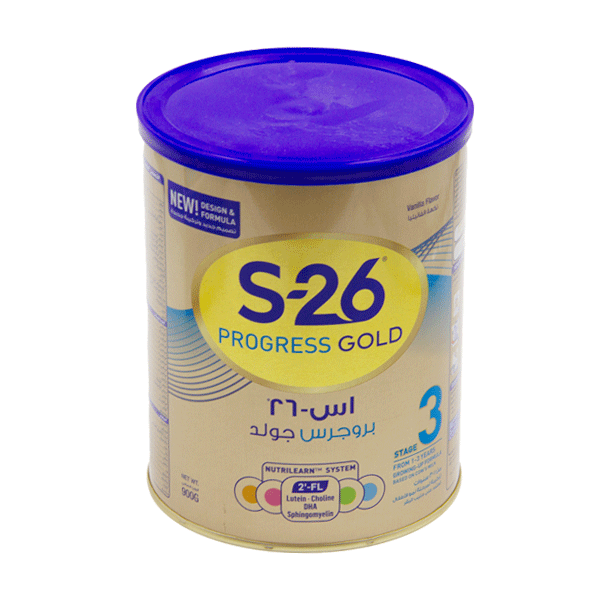 S 26 PROGRESS GOLD 3 BABY MILK 900 GR