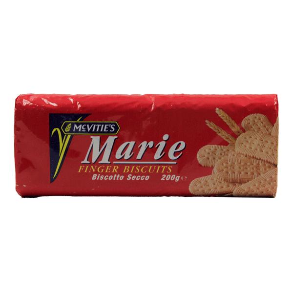 MCVITIES MARIE FINGER BISCUITS 200G