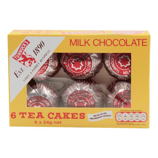 TUNNOCKS TEA CAKES 6X24 GR