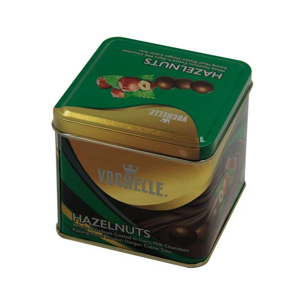 VOCHELLE HAZELNUT CHOCO SQUARE BOX 180GM