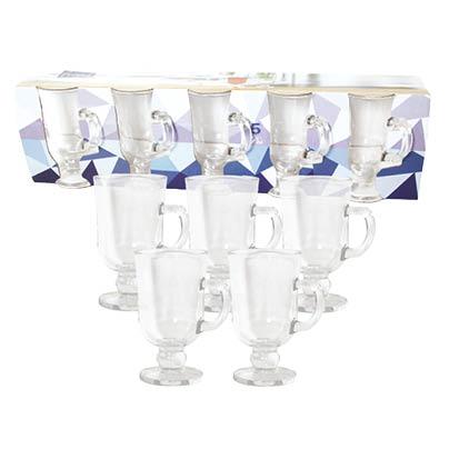 Glass Tea Cup Set 5 PCS