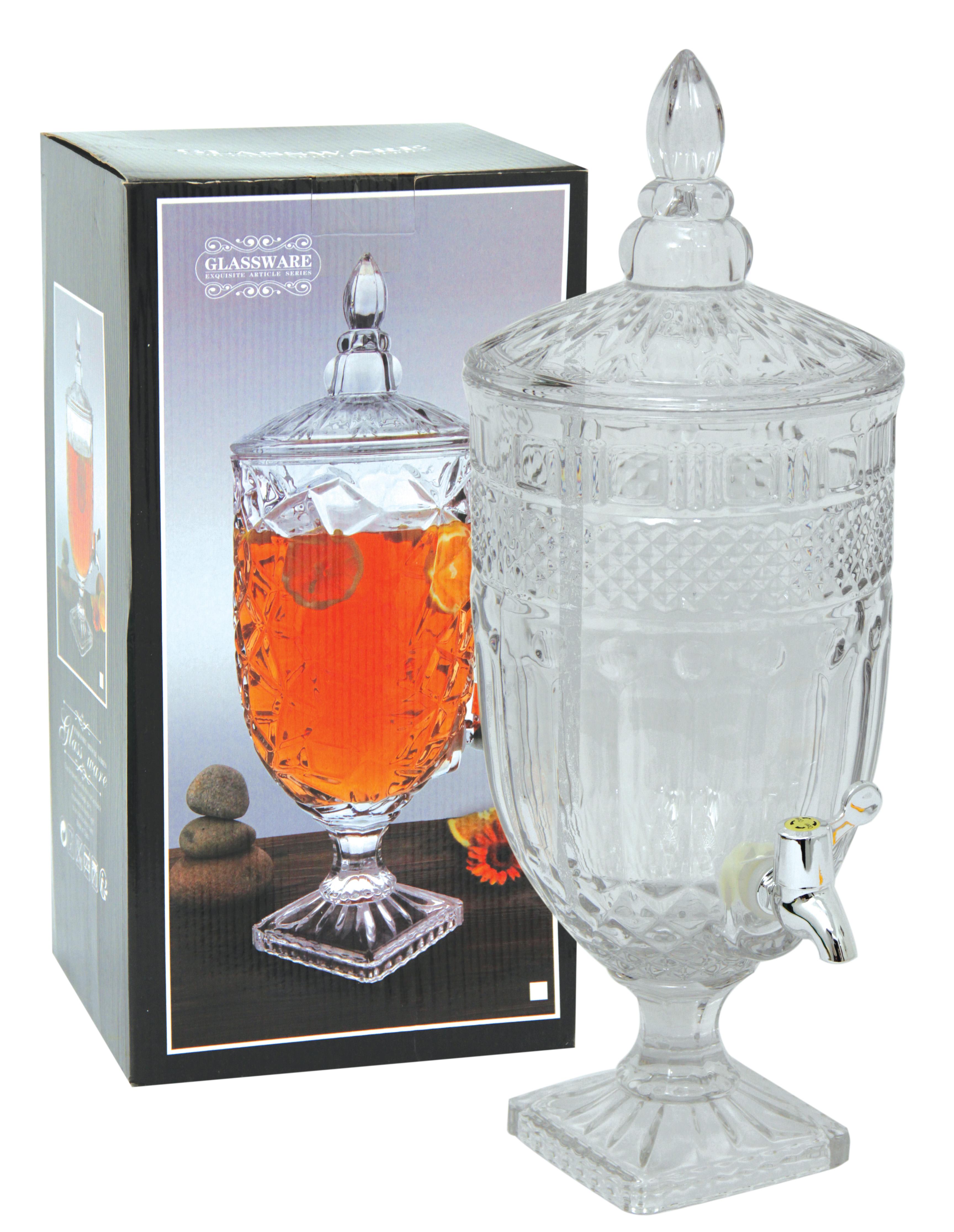 Glass Juice Dispenser 5.0L