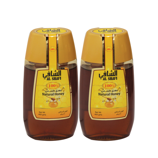AL SHAFI NATURAL HONEY 2X400GM