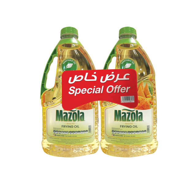 MAZOLA FRYING OIL 2x1.8LTR