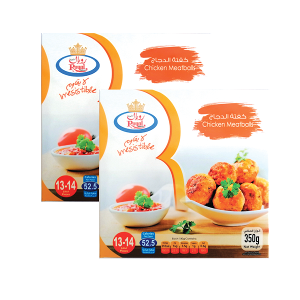 ROYAL CHICKEN BALL 2x350GR