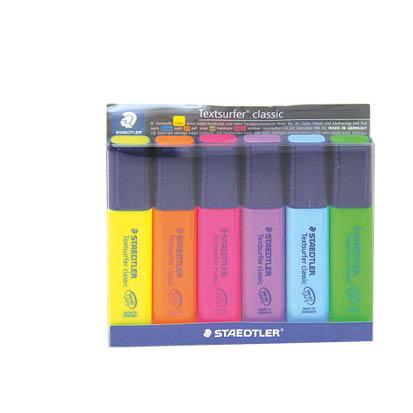 Staedtler phosphoric pens 6 color