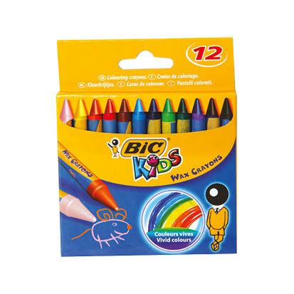 BIC Wax colors  12 color