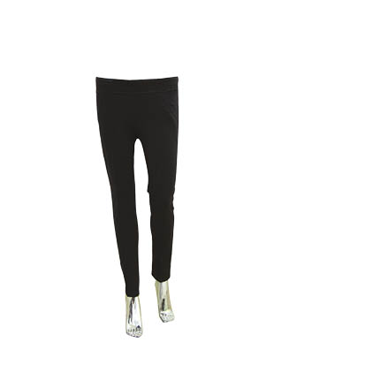 12-18 black cotton school girl pants