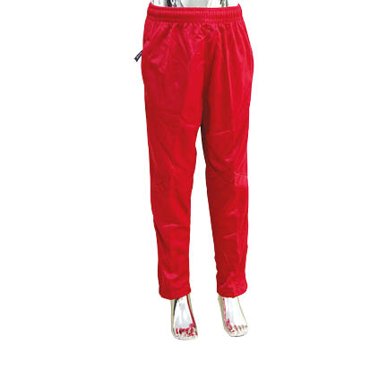 Boys red school sport pants 4-10