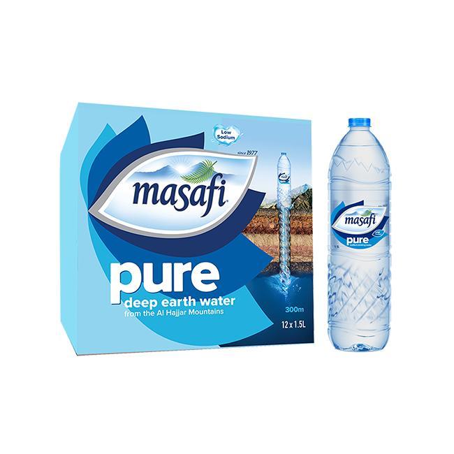 MASAFI MINERAL WATER  12  x  1.5LTR