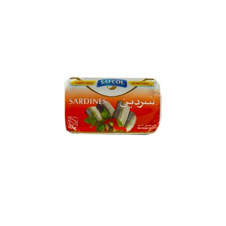SAFCOL SARDINES TOMATO SAUCE 120 G