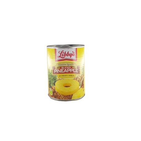SLICED PINEAPPLE IN HEAVY SYRUP 570 G