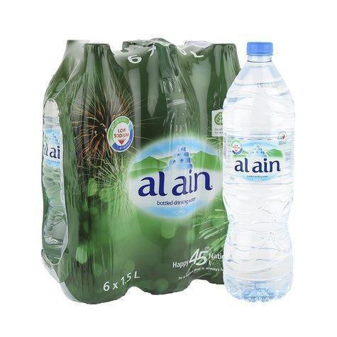 AL AIN PURE WATER 6 x 1.5LTR