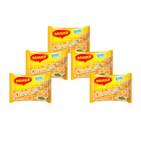 MAGGI NOODLES CHEESE 5 x 77GM