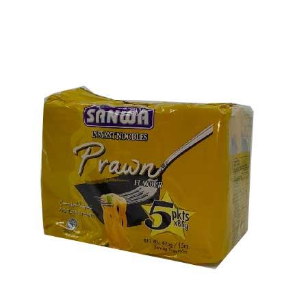 SANWA NOODLES PRAWN 5 x 85GM