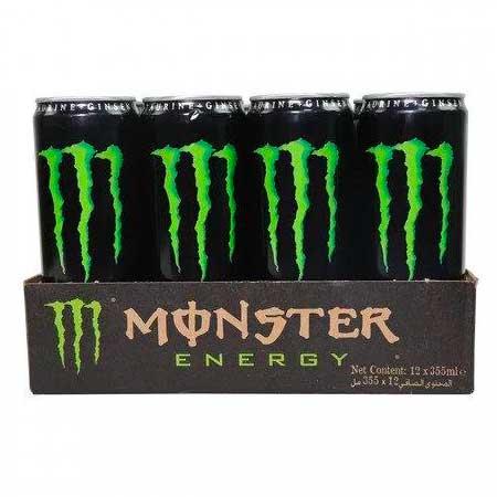 MONSTER ENERGY DRINK 12 x 250ML