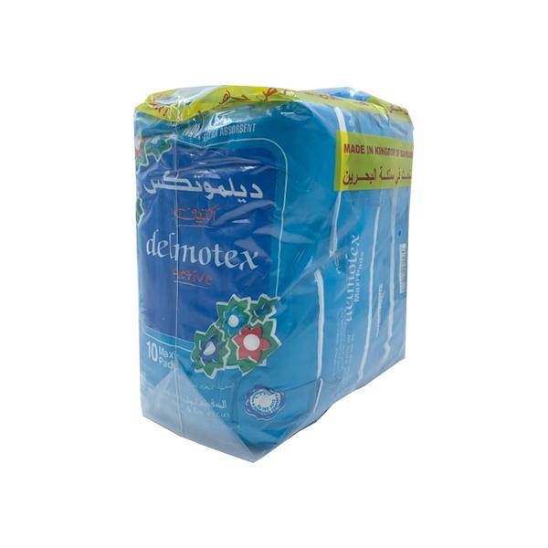 DELMOTEX ACTIVE 40 MAXI PADS