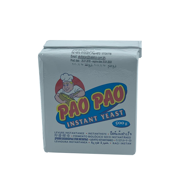 PAO PAO INSTANT YEAST 500 GR