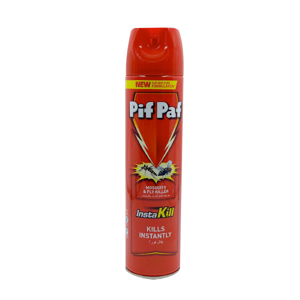 PIF PAF MOSQUITO & FLY KILLER INSTAKILL 600ML