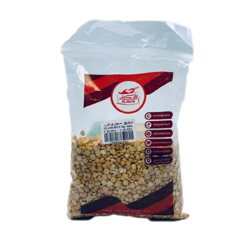 AL AKKFA YELLOW SPLIT DAL 400 GM