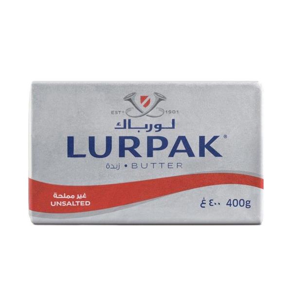 LURPAK BUTTER UNSALTED 400GM
