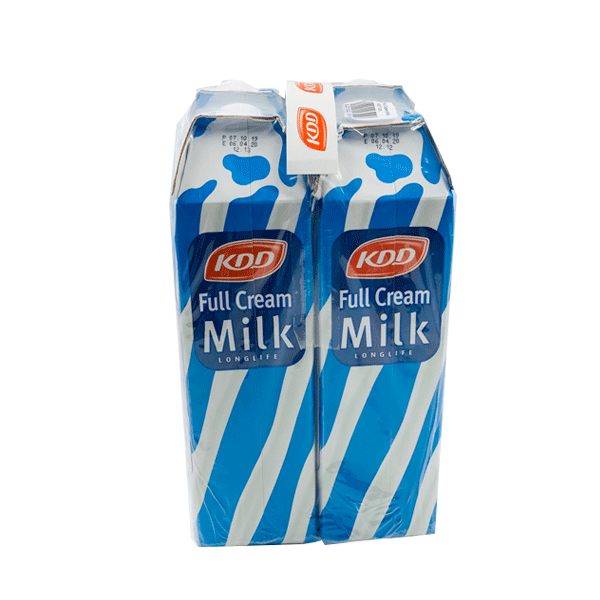 KDD LONG LIFE MILK 4 x 1L