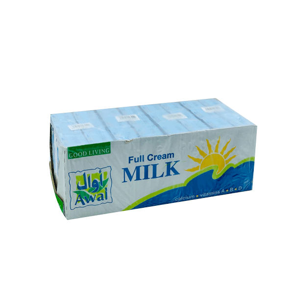 AWAL FULL CREAM MILK 24 x 200ML