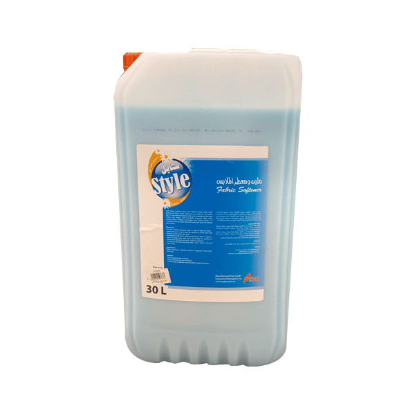 STYLE FABRIC SOFTENER EXOTIC BLUE 30L