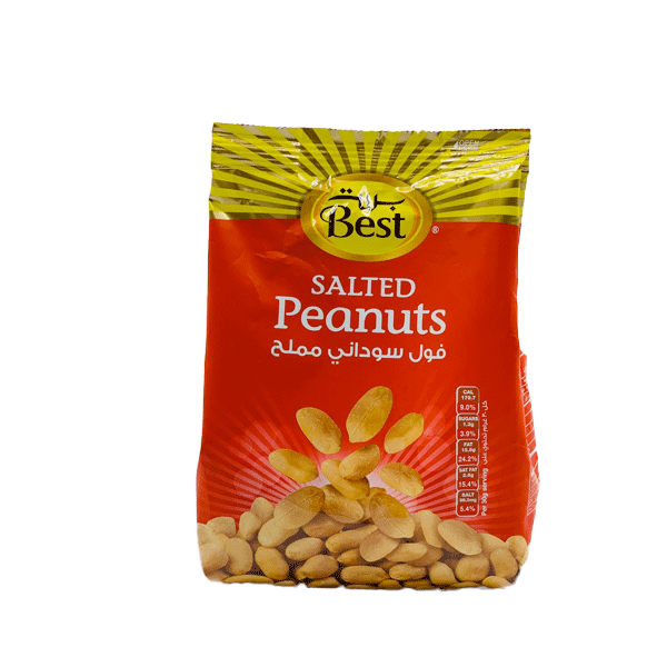 BEST SALTED PEANUTS 300 GM POUCH