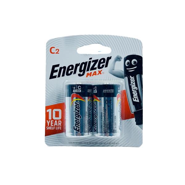 ENERGIZER ALKALINE C 2PCS