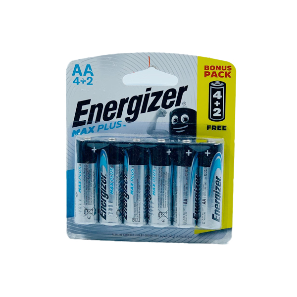 ENERGIZER ADVANCED MAX PLUS AA 4+2PCS