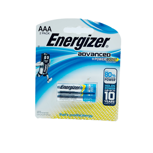 ENERGIZER ADVANCED AAA 2PCS