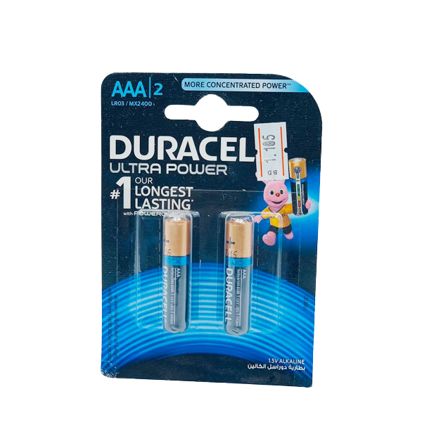 DURACELL ULTRA  POWER LONG LASTING 6PCS  AAA
