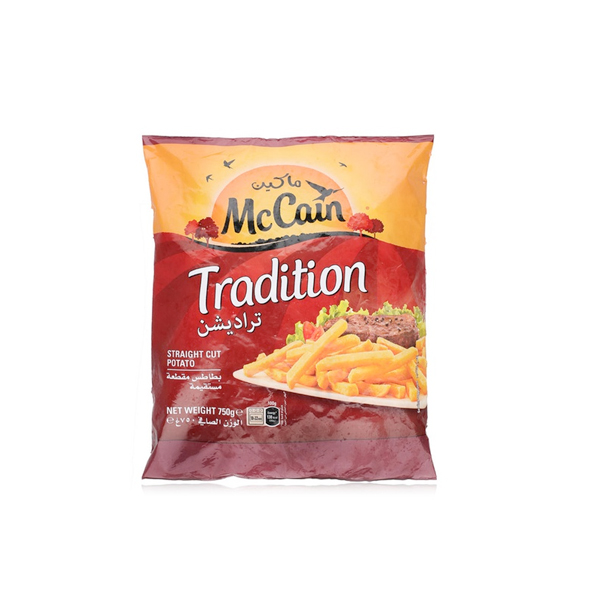 MCCAIN FRIES TRADITION 750GM