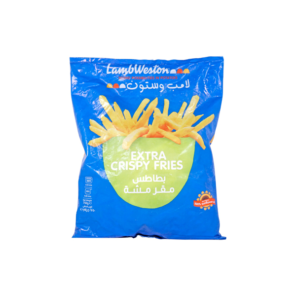 LAMB WESTON EXTRA CRISPY FRIES 750GM