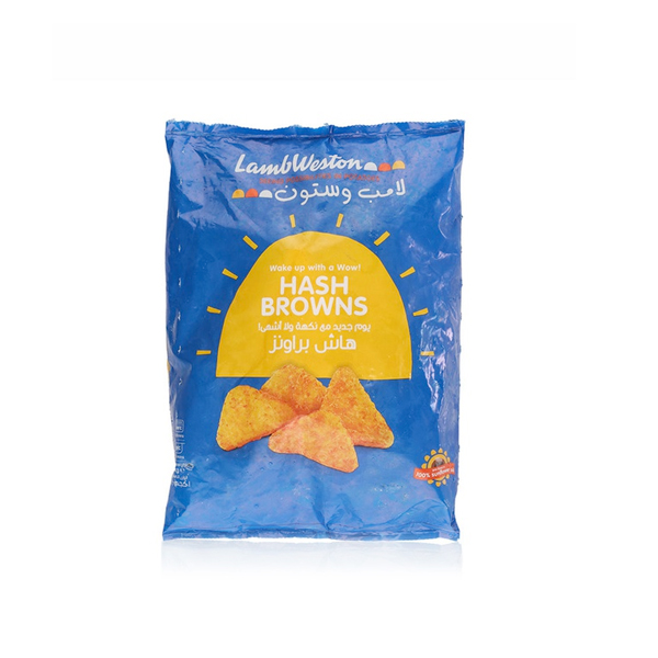 LAMB WESTON HASH BROWNS TRIANGLE 1KG