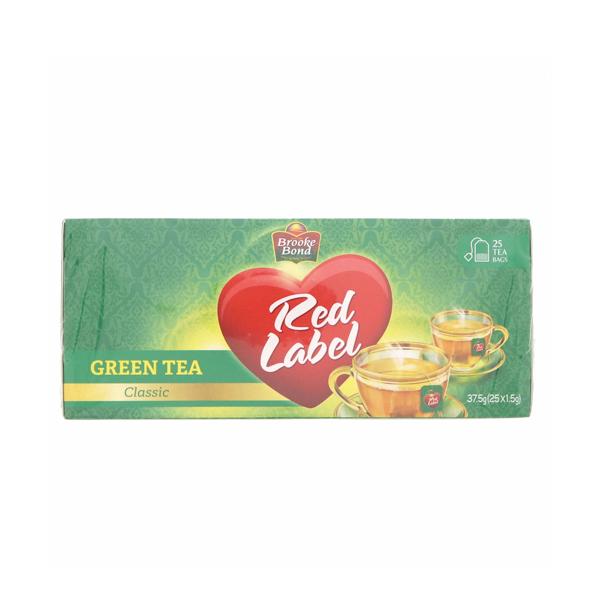 BROOKE BOND RED LABEL GREEN TEA CLASSIC 25 BAGS