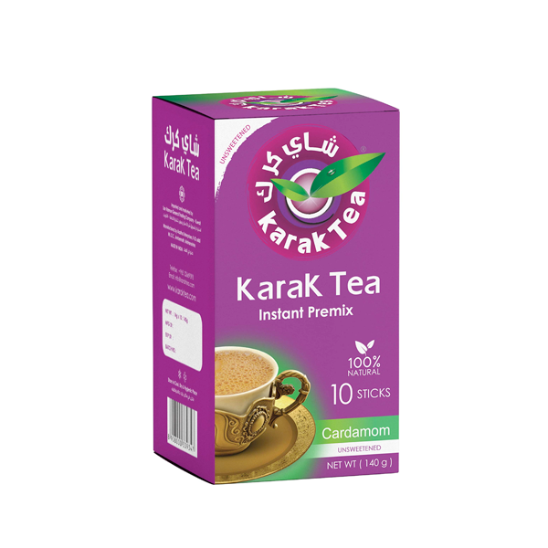 KARAK TEA INSTANT CARDAMOM 10 STICKS