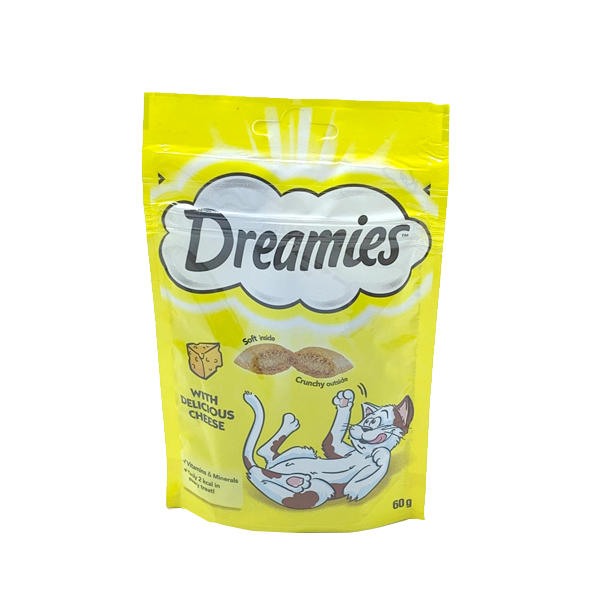 DREAMIES TREAT WITH DELICIOUS CHEESE 60 GM