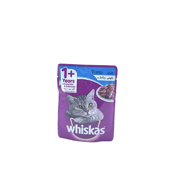 WHISKAS TUNA IN JELLY 85G