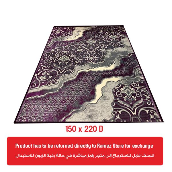 FLASH DREAM TURKISH CARPET 150 x 220D (LILIA  ANTHRACITE)