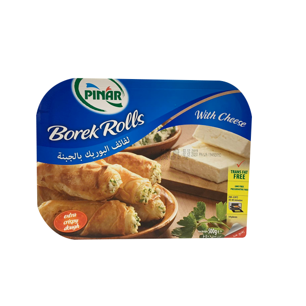 PINAR BOREK ROLLS WITH CHEESE 500GM