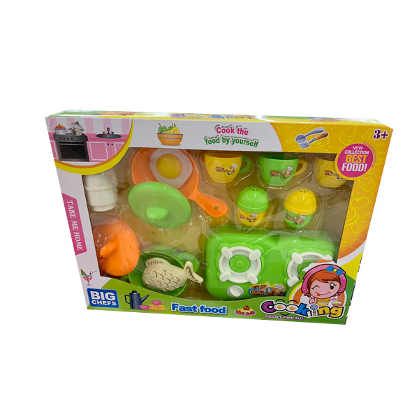 FAST FOOD COOKING TOY SET