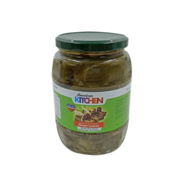 AMERICAN KITCHEN PRE TURKISH GRAPE LEAVES 910GM