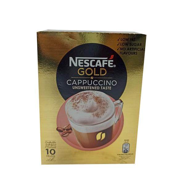 NESCAFE GOLD CAPPUCCINO UNSWEETEND TASTE 14.2GM