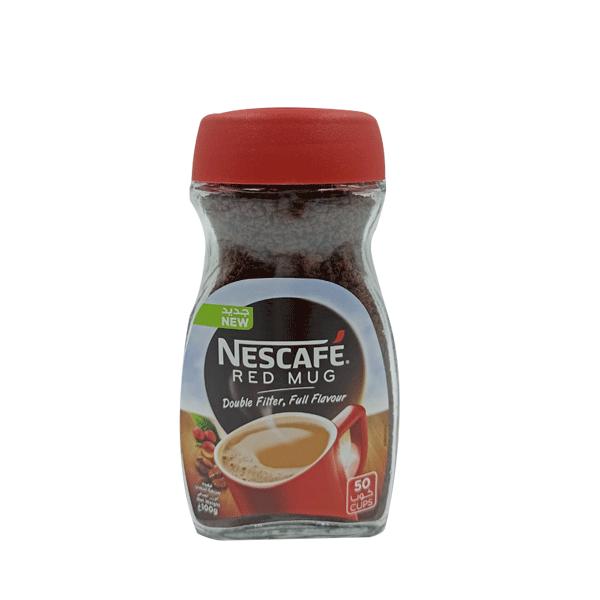 NESCAFE RED MUG COFFEE BOTL 100GR