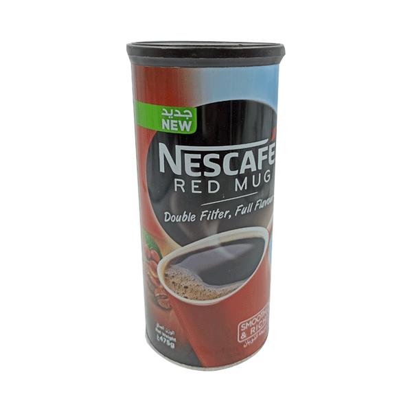NESCAFE  RED  MUG TIN  475G