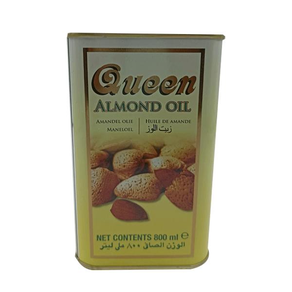 QUEEN ALMOND OIL TIN 800 ML