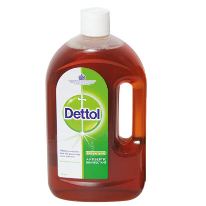 DEETOL ANTISEPTIC DISINFECTANT 1 LTR